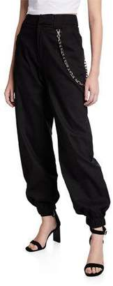 I.AM.GIA Cobain Slouchy Pants with Chain