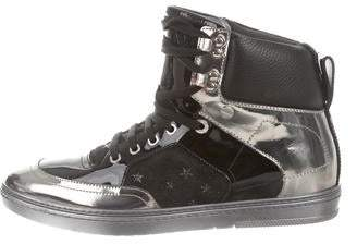 Jimmy Choo Bradley High-Top Sneakers