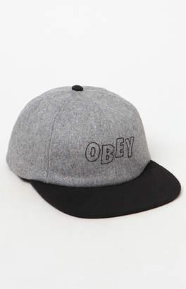 Obey Strike Snapback Hat