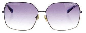 Jimmy Choo Jimmy Choo Erica Oversize Sunglasses