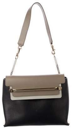 Chloé Medium Tri-Color Clare Shoulder Bag Black Chloé Medium Tri-Color Clare Shoulder Bag