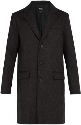 A.P.C. Majordome wool-blend overcoat