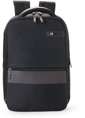 Samsonite Black & Brown Kombi Small Laptop Backpack