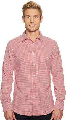 Perry Ellis Mini Check Total Stretch Dress Shirt Men's Clothing
