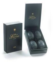 Maria Evora Box of 4 Black Cameo Soaps