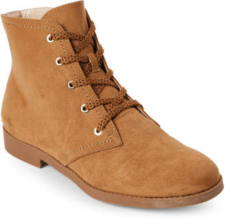 Indigo Rd Natural Abelly 2 Lace-Up Ankle Boots