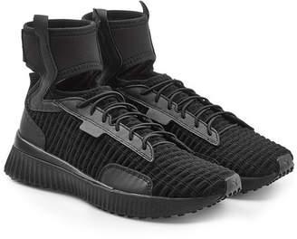 47fcf3604872cc FENTY PUMA by Rihanna Leather High Top Sneakers