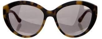 Dolce & Gabbana Cat-Eye Mirrored Sunglasses