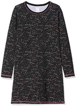 Dim Girl's Chemise De Nuit Nightie, (Black 02), (Size: 14A)