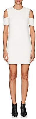 Helmut Lang Women's Cold-Shoulder Crepe Shift Dress - Iv