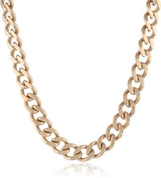 Men's -Tone Stainless Steel Classic Curb Chain Necklace