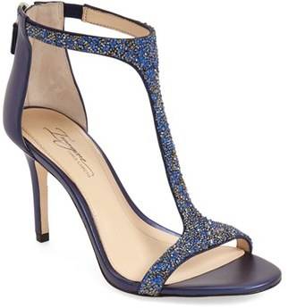 Imagine by Vince Camuto 'Phoebe' Embellished T-Strap Sandal (Women) $159.95 thestylecure.com