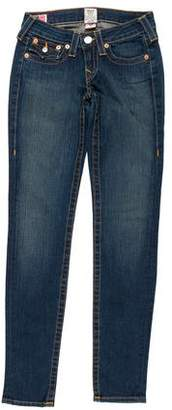 True Religion Low-Rise Skinny Jeans