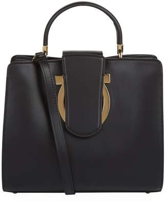 Salvatore Ferragamo Leather Thea Handbag