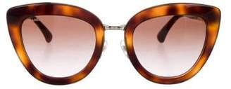 Chanel Spring Cat-Eye Sunglasses