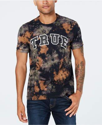 True Religion Men's Tie-Dye Logo T-Shirt