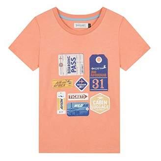 Jean Bourget Boy's Jn10103 T-Shirt, (Dark Orange 77), (Size: 6A)