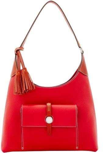 Dooney & Bourke Cambridge Hobo Shoulder Bag - RED - STYLE