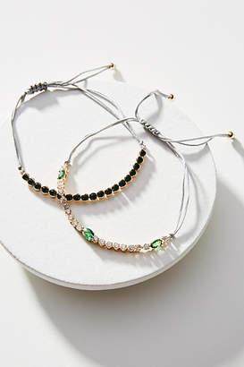 Anthropologie Birthstone Bracelet Set