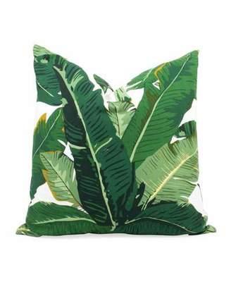 8 Oak Lane Botanical Leaf Indoor/Outdoor Throw Pillow