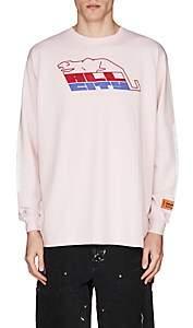 "Heron Preston Men's ""All City"" Cotton Jersey T-Shirt-Pink"