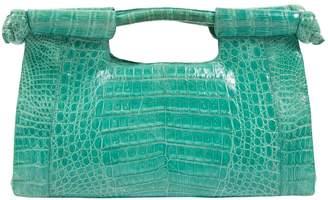 Nancy Gonzalez Green Crocodile Handbag