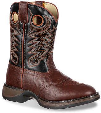 Durango Saddle Western Toddler & Youth Cowboy Boot - Boy's