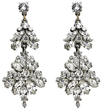 Women's Ben-Amun Crystal Statement Earrings $295 thestylecure.com