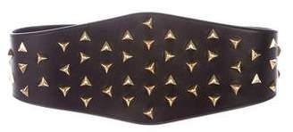 Saint Laurent Stud-Embellished Waist Belt