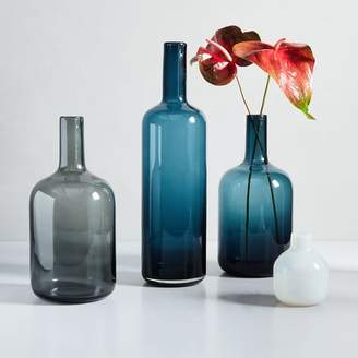 west elm Pure Glass Vases