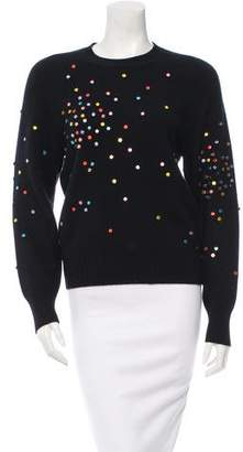 Chanel Embellished Cashmere Sweater w/ Tags