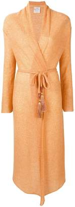 Forte Forte long belted cardigan
