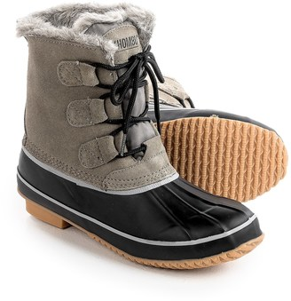 Khombu Alyssa Pac Boots - Waterproof, Insulated, Suede (For Women) $39.99 thestylecure.com