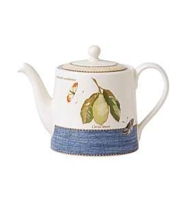 Wedgwood Sarah'S Garden Teapot Blue 1.17Ltr