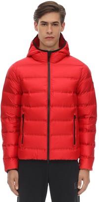 Emporio Armani Ea7 Hooded Mountain Down Jacket