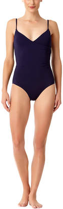 Anne Cole Wrap-Front Maillot