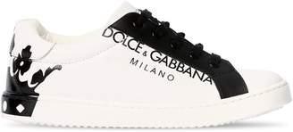 Dolce & Gabbana (ドルチェ & ガッバーナ) - DOLCE & GABBANA CROWN レザースニーカー