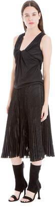Max Studio woven sleeveless blouse