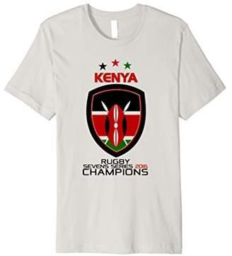 Kenya 2016 Rugby Sevens Champions Tshirt