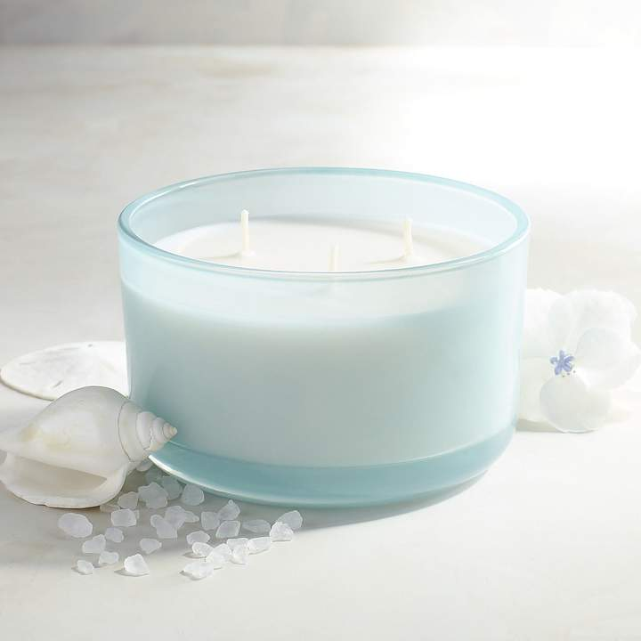 Sea Salt Filled 3-Wick Candle