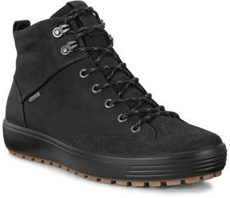 Ecco Soft 7 Tred Suede Leather Sneaker Boots