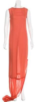 Maison Margiela Silk Maxi Dress