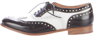 Church'sChurch's Two-Tone Leather Oxfords