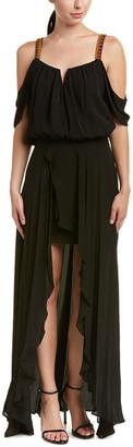 Nicole Miller Silk Gown