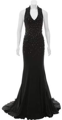 Mac Duggal Embellished Evening Gown