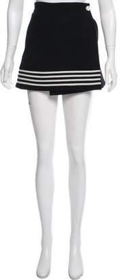 Paco Rabanne Wool Mini Skirt w/ Tags