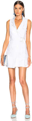 GRLFRND Kiran Belted Wrap Dress in Confidante | FWRD