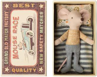 Maileg Little Brother Stuffed Toy Mouse in a Box