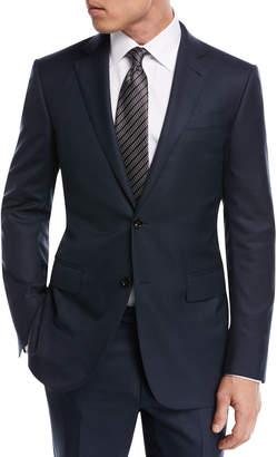 Ermenegildo Zegna Tonal Plaid Wool Two-Piece Suit 18eeae2f2385