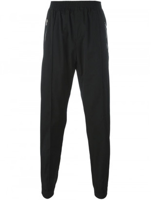 Givenchy zip detail jogging pants $760 thestylecure.com